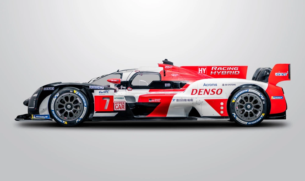 toyota reveal the first picture of their new hypercar sport 21 motorsport news
